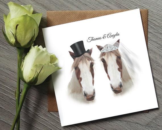 Pferd-Themed Hochzeit Einladung Probe Pferd Hochzeit lädt | Etsy