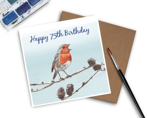 75th Birthday Card Grandad For
