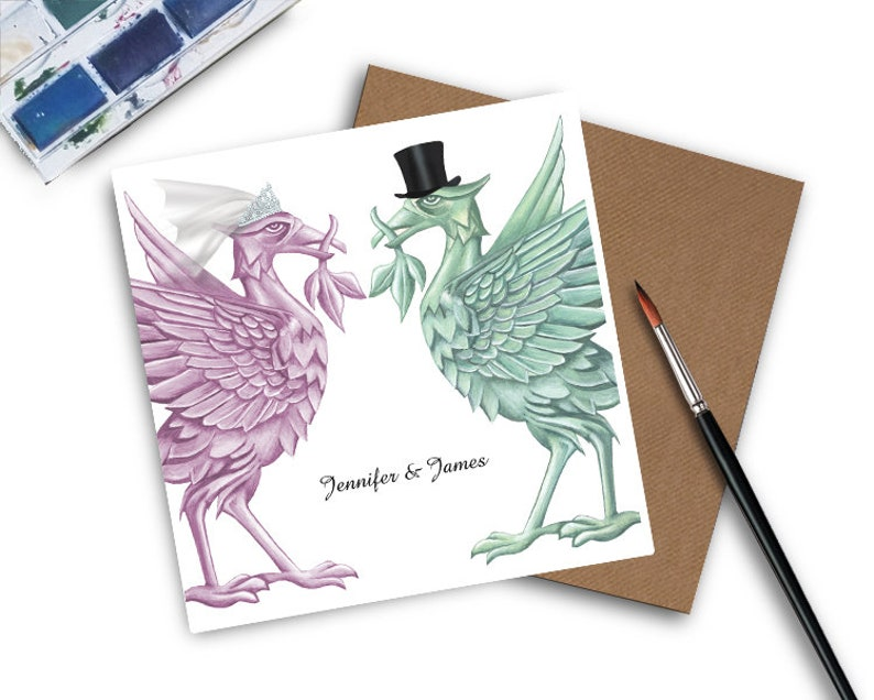 Liverpool Wedding Invitations  Liverpool  Wedding Invitation image 1