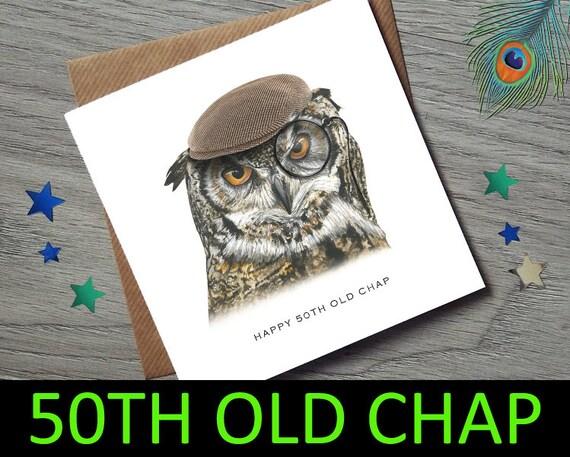 50th Birthday Card 50th Birthday Card For Him 50th