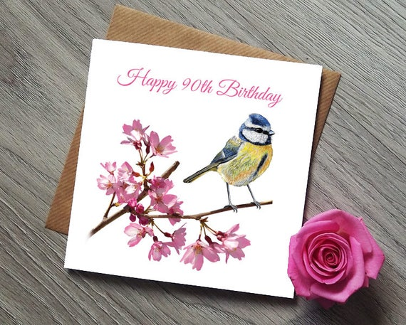 90th Birthday Card Gift