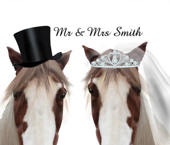Horse Wedding Invitations Horse Wedding Invitation Horse Etsy