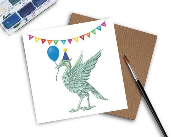 Liverpool Birthday Card Fc