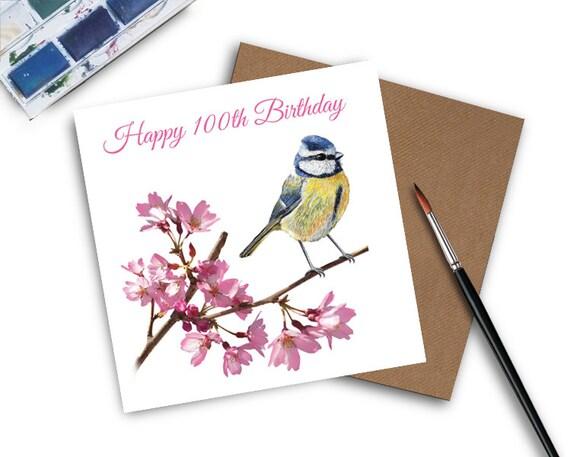 100th Birthday Card Gift