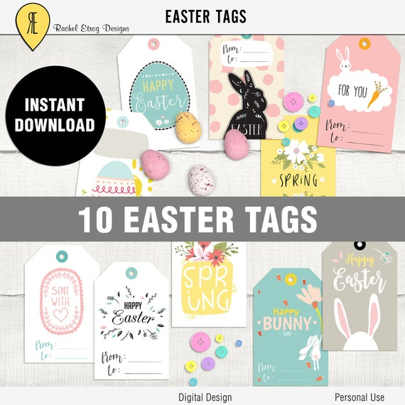 Easter digital gift tags easter printable tag printable easter easter digital gift tags easter printable tag printable easter bunny gift tags easter digital tags gift easter tags easter bunny tags from negle Choice Image
