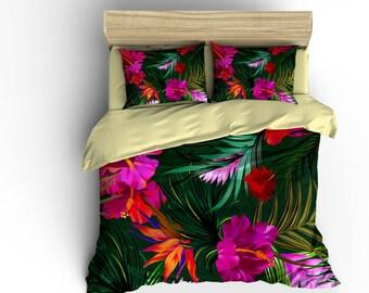 Hawaiian Bedding Etsy