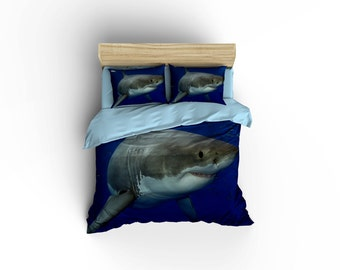 Shark bedding | Etsy