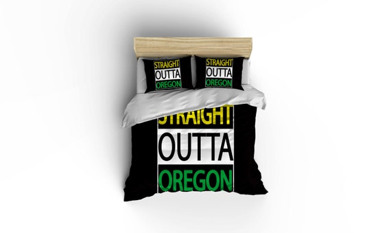 Oregon Duvet Coversoregon Duck Bedding Home Decor Bedding Etsy