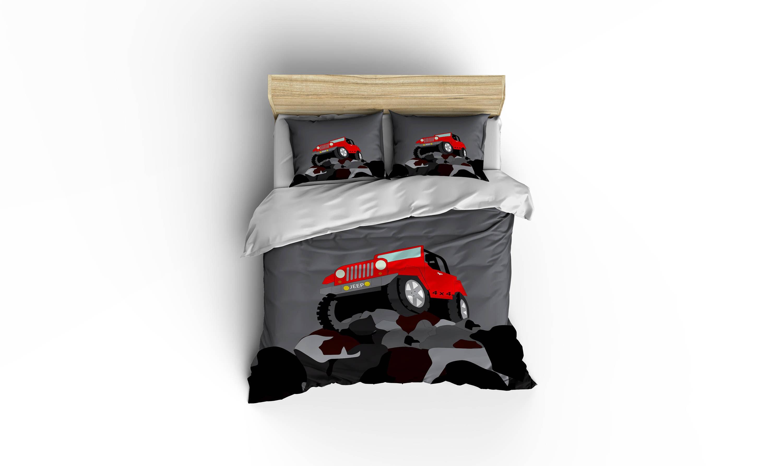 Jeep Bedding4 wheelin beddingMuscle CarsJeep 4 x 4 | Etsy