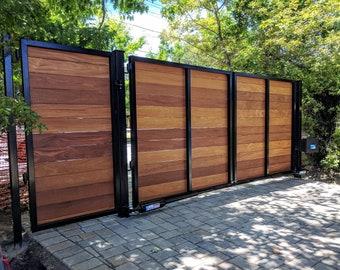 Wrought iron gate | Etsy