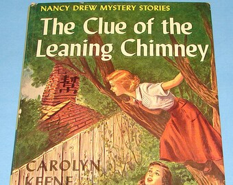 Nancy Drew #26 Clue Leaning Chimney 1st PC