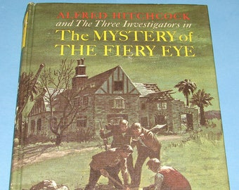 Three Investigators #7 Mystery of the Fiery Eye HB