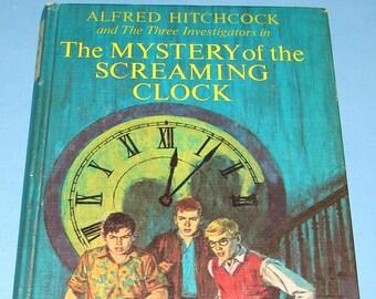 Three Investigators #9 Mystery of Screaming Clock HB