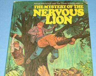 Three Investigators #16 Mystery of Nervous Lion HB