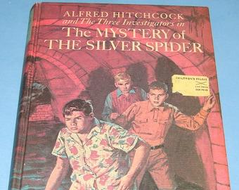Three Investigators #8 Mystery of the Silver Spider HB