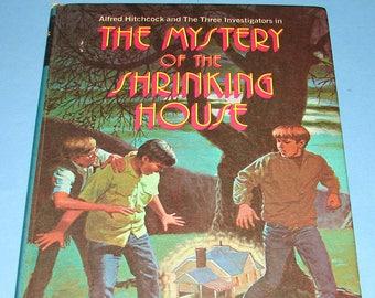 Three Investigators #18 Mystery of Shrinking House HB