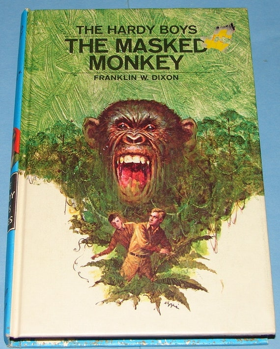 Hardy Boys 51 The Masked Monkey 2nd Prt