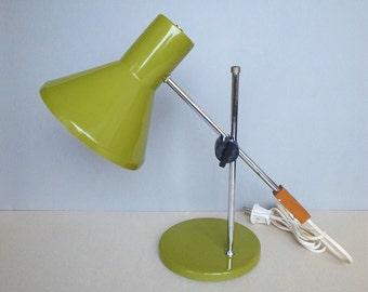The Brass Step Swivel Lamp Swing Arm Reading Or Task Light