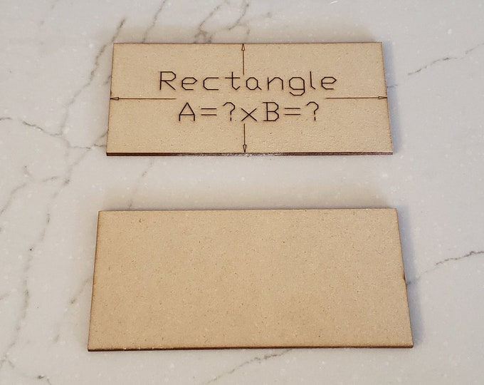 Up to 40 Miniature Bases Custom Sized Rectangles up to 150 mm out of MDF with FREE shipping in the USA