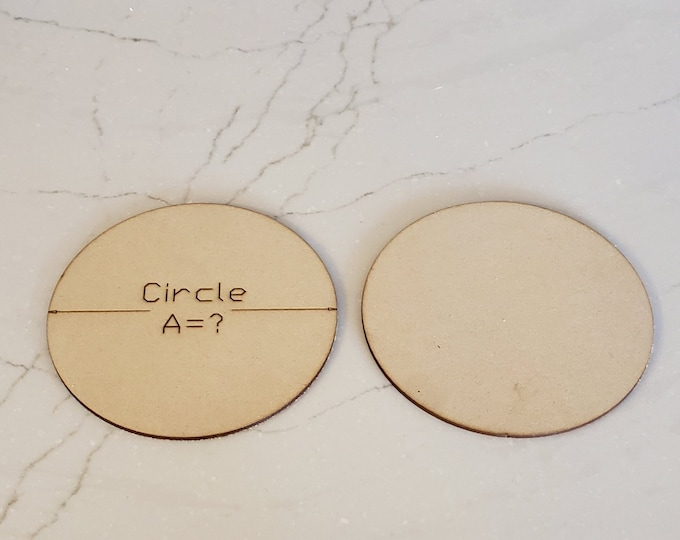 Up to 40 Miniature Bases Custom Sized Circles up to 150 mm out of MDF with FREE shipping in the USA