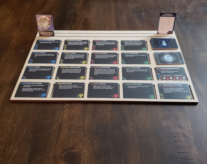 Set of 6 Twilight Imperium 2019 MDF Tech Card Tray with FREE shipping in the USA