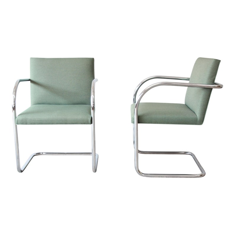 Mies Van Der Rohe Brno Club Chairs By Gordon International 7 Etsy