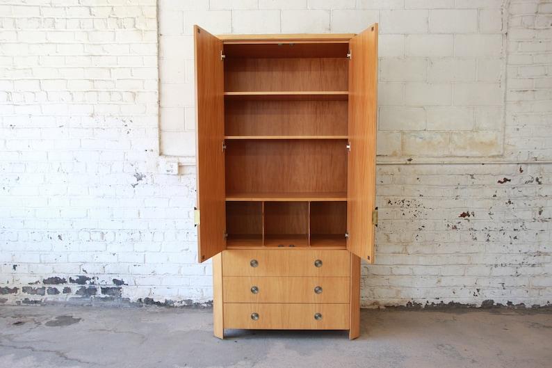 Charles Pfister for Baker Furniture Primavera Art Deco Wardrobe Dresser