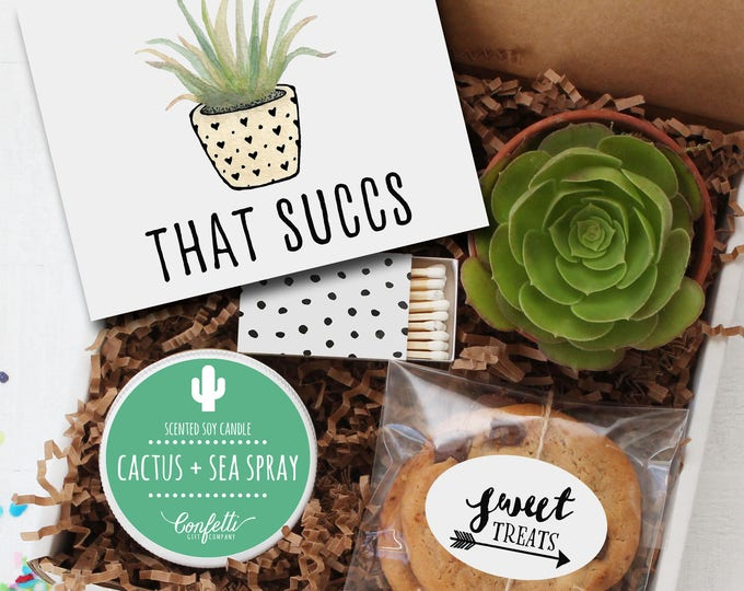 That Succs -  Sympathy Gift | Sympathy Card | Friend Gift | Send a Gift | Thinking of You Gift | Succulent Gift | Empathy Card