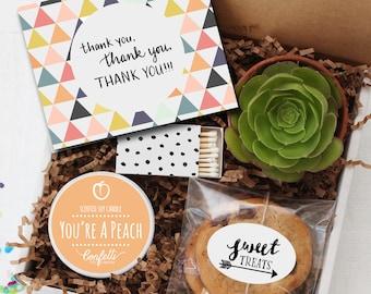 Thank You Gift Box -  Appreciation Gift | Best Friend Gift | Teacher Gift | Teacher's Aide Gift | Room Parent Gift | Coworker Gift |