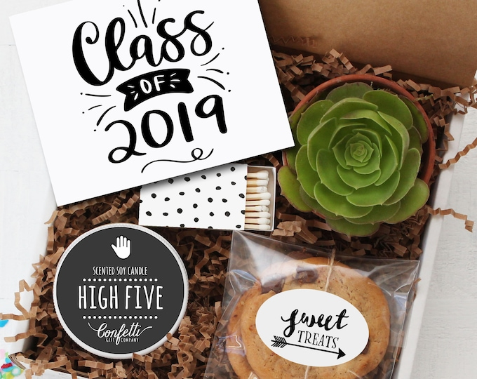 Class of 2019 Gift Box -  Graduation Gift | Class of 2019  | Congratulations Gift | College Graduation Gift | Promotion Gift | High School