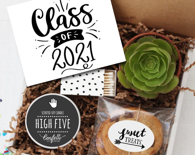 Class of 2021 Gift Box -  Graduation Gift | Class of 2021  | Congratulations Gift | College Graduation Gift | Promotion Gift | High School