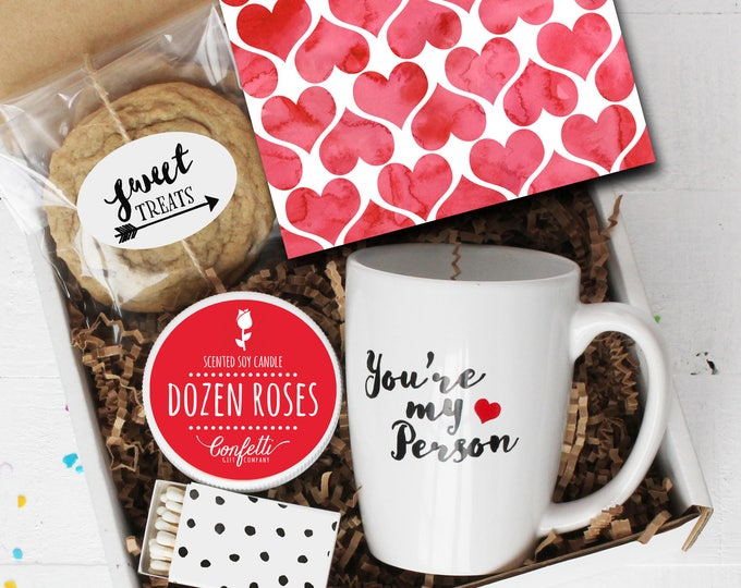 You're My Person Gift Box - Valentine's Day Gift | Best Friend Gift | Girlfriend Gift | Boyfriend Gift | BFF Gift