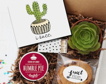 I Succ Gift Box - I'm Sorry Gift | Make Amends Gift | Apology Card | Best Friend Gift | Send a Gift | Thinking of You Gift