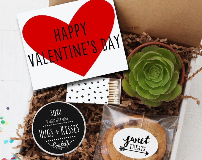 Happy Valentine's Day Gift Box | Boyfriend Gift | Girlfriend Gift | Valentine's Day Gift | Thinking of You Gift