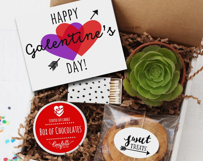 Happy Galentine's Day Gift Box | Besties Gift | Friend Gift | Valentine's Day Gift | Thinking of You Gift