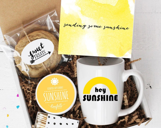 Box of Sunshine - Comfort Box | Get Well Gift | Thank You Gift | Condolence Gift | Send a Gift | Gift for her | Sympathy Gift | Send a card