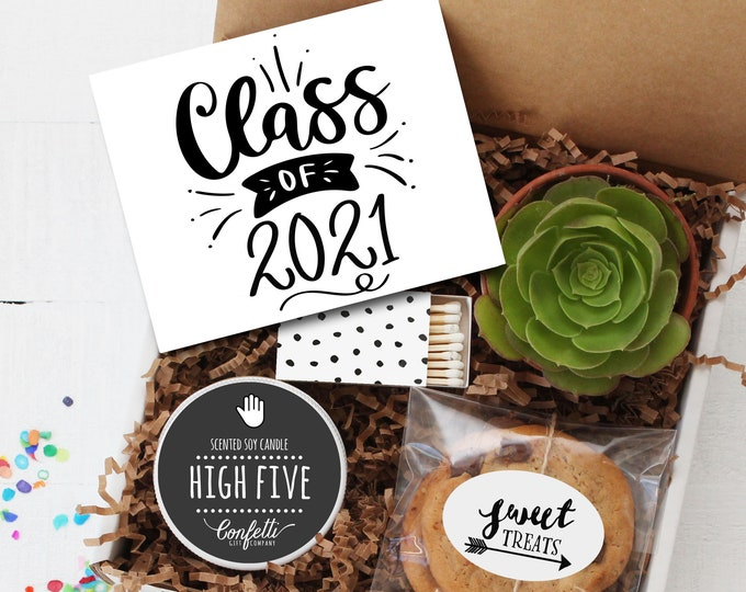 Class of 2021 Gift Box -  Graduation Gift   Class of 2021    Congratulations Gift   College Graduation Gift   Promotion Gift   High School