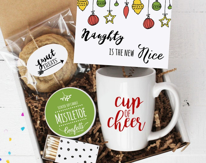 Naughty is the New Nice Gift Box - Christmas Gift | Holiday Gift | Long Distance Gift | Christmas Gift Basket | Best fiend Gift | Bestie