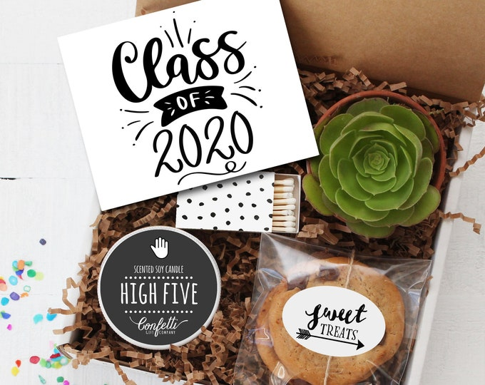 Class of 2020 Gift Box -  Graduation Gift | Class of 2020  | Congratulations Gift | College Graduation Gift | Promotion Gift | High School