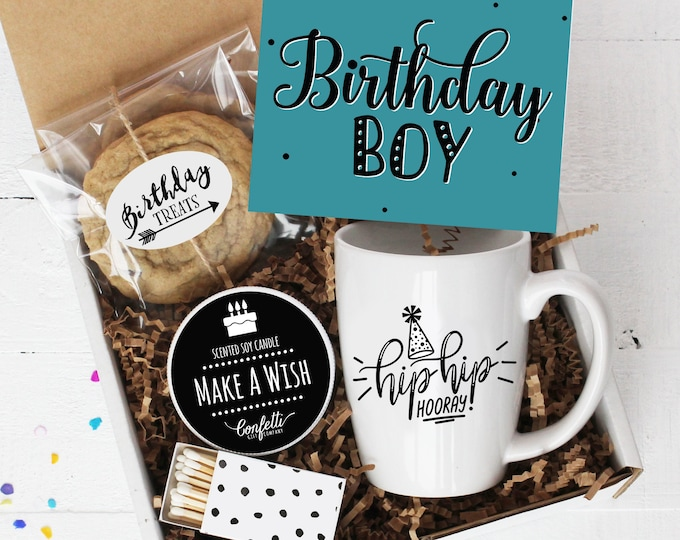 Birthday Boy Gift Box | Send a Birthday Gift | Birthday Gift Set | Birthday Gift for Him | Birthday Gift for Son | Birthday Mug Gift Box