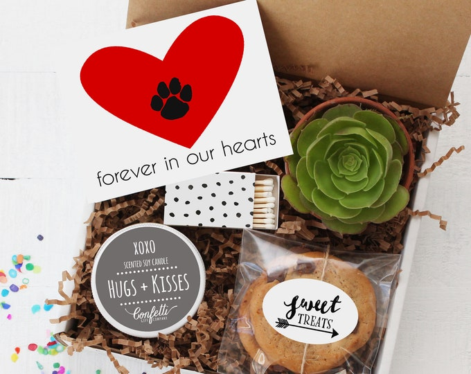 Loss of Pet Gift Box -  Sympathy Gift | Condolence Gift | Thinking of You Gift | Condolence Gift | Loss of Dog | Loss of Cat