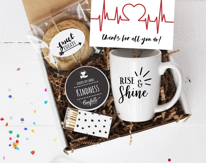 Healthcare Worker Thank You Gift | Mug Gift Box | Nurse Thank You Gift | Healthcare Appreciation Gift | Doctor Thank You Gift | Support Gift