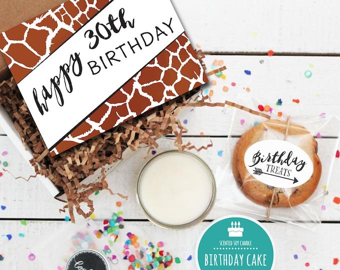 Mini Happy 30th Birthday Gift Box - Milestone Birthday | Send a Birthday Gift | Friend Gift | Coworker Gift | 30th Birthday Card