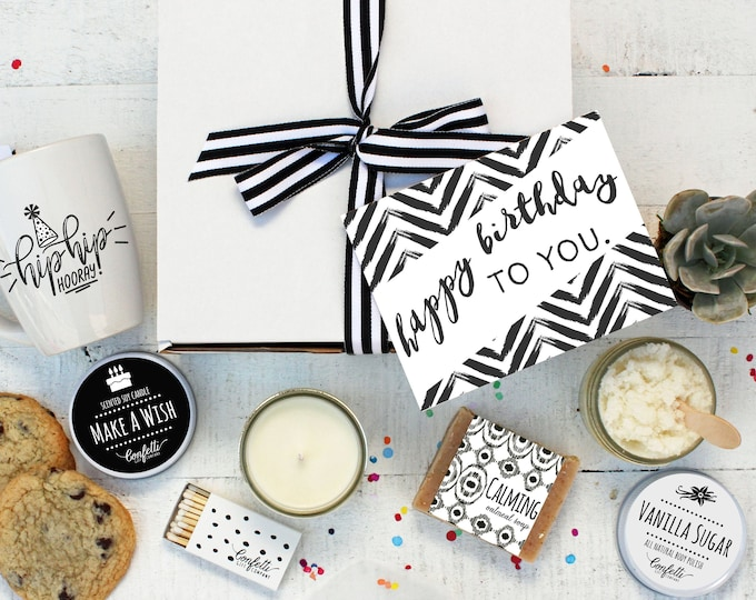 Happy Birthday To You Gift Box - The Works | Birthday Gift for Her |  Spa Gift Set | Birthday Gift for friend | Best Friend | Birthday Box