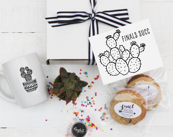 College Care Package - Finals Succ Gift Box | College Student Gift | Care Package | Dorm Gift | Gift From Parents | Gift For Student