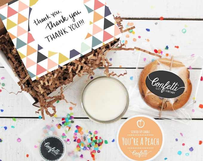 Mini Thank You Gift Box -  Appreciation Gift | Best Friend Gift | Teacher Gift | Teacher's Aide Gift | Room Parent Gift | Coworker Gift |