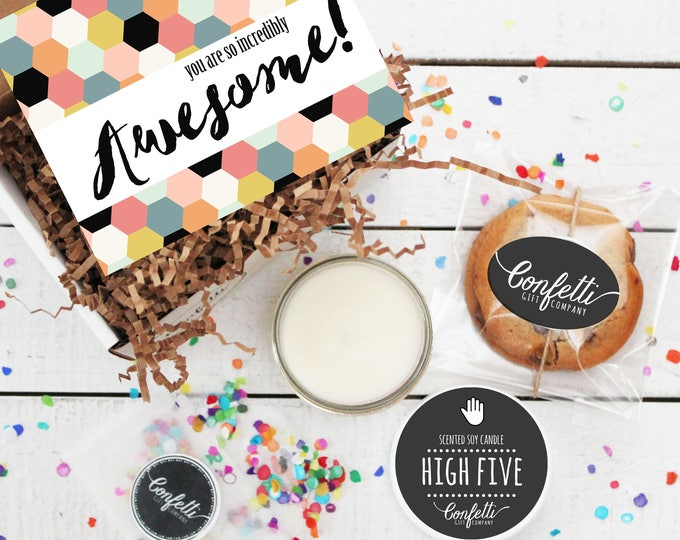 Mini You Are So Incredibly Awesome Gift Box - Congratulations Gift | Thank You Gift | Best Friend Gift | Celebration Gift | Friend Gift