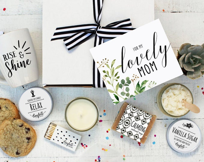 For My Lovely Mom - The Works | Thank You Gift | Appreciation Gift | Mother's Day Gift | Spa Gift Box | Spa Gift Set | Gift for Mom