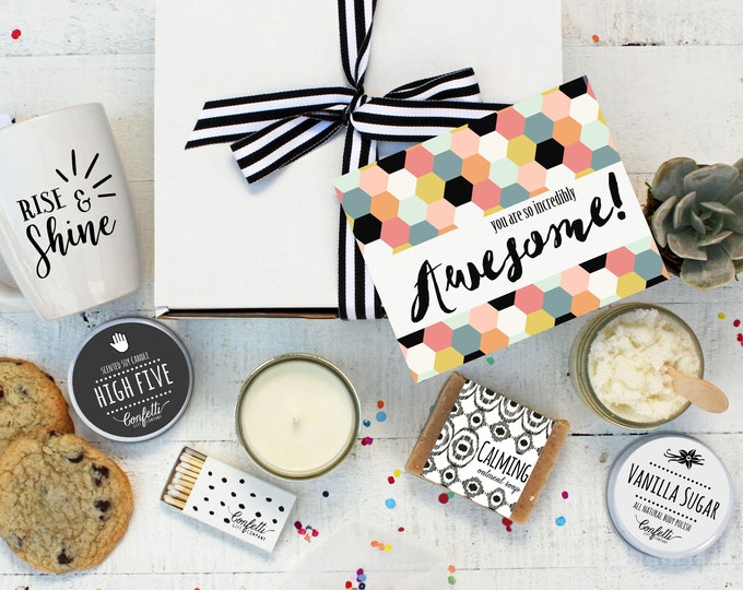 You Are So Incredibly Awesome - The Works | Thank You Gift | Graduation Gift | Promotion Gift | Congratulations Gift | Pamper Gift | Spa Box