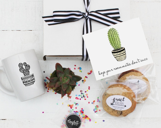 College Care Package - Hope Your Roommates Don't Succ Gift | College Student Gift | Care Package | Dorm Gift | Gift From Parents